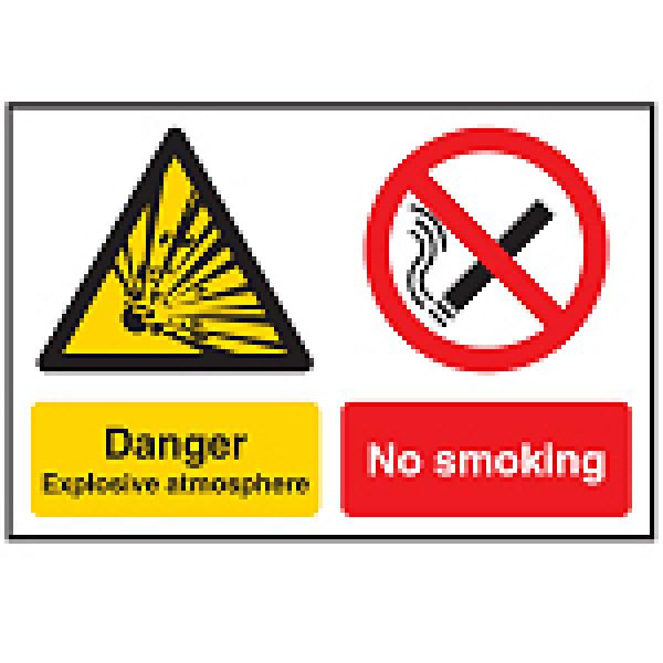 802871 - Hazard Warning Sign - Multi-Message - Danger
