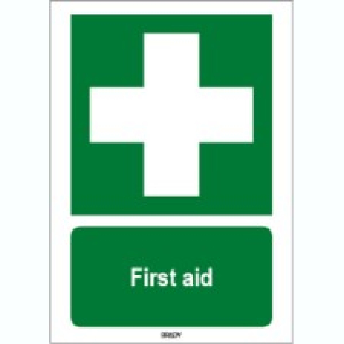 Iso 7010 Sign First Aid